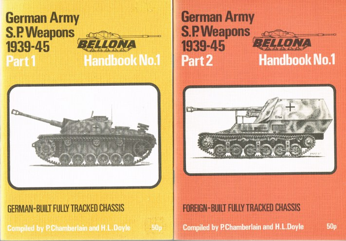 Image for GERMAN ARMY S.P. WEAPONS 1939-45: PART 1: GERMAN-BUILT FULLY TRACKED CHASSIS + PART 2: FOREIGN-BUILT FULLY TRACKED CHASSIS (TWO VOLUME SET)