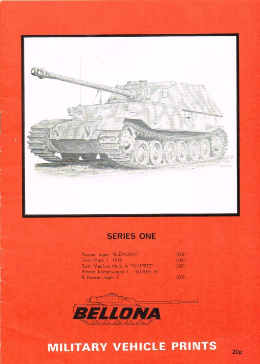 Image for BELLONA MILITARY VEHICLE PRINTS: SERIES ONE