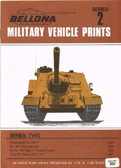 Image for BELLONA MILITARY VEHICLE PRINTS: SERIES TWO