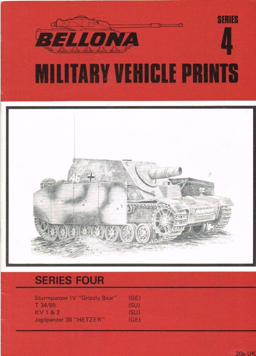 Image for BELLONA MILITARY VEHICLE PRINTS: SERIES FOUR