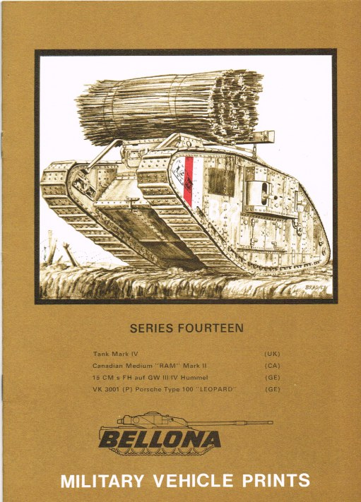 Image for BELLONA MILITARY VEHICLE PRINTS: SERIES FOURTEEN