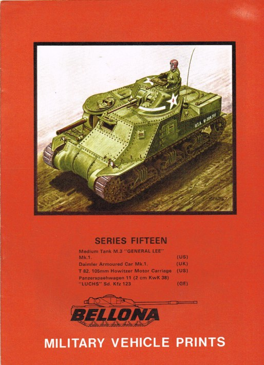 Image for BELLONA MILITARY VEHICLE PRINTS: SERIES FIFTEEN