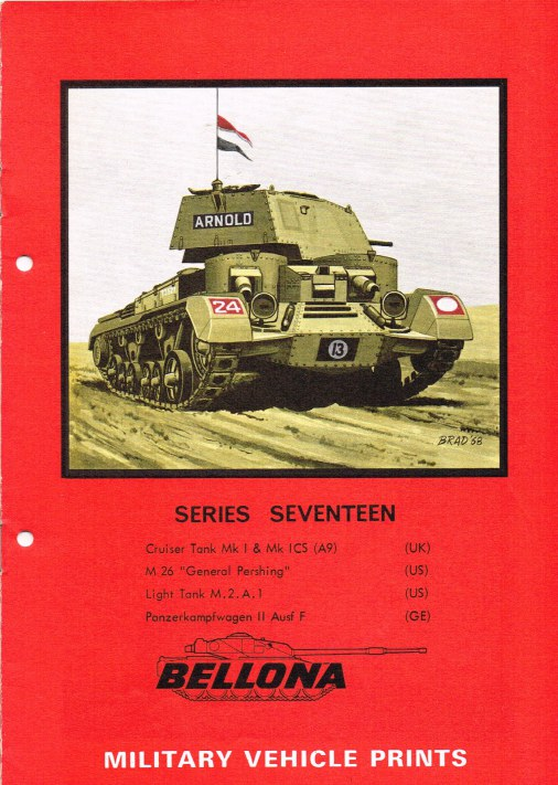 Image for BELLONA MILITARY VEHICLE PRINTS: SERIES SEVENTEEN