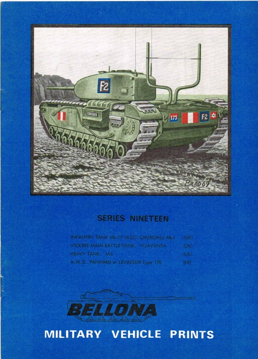 Image for BELLONA MILITARY VEHICLE PRINTS: SERIES NINETEEN
