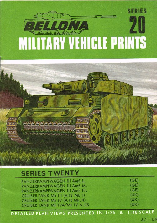 Image for BELLONA MILITARY VEHICLE PRINTS: SERIES TWENTY