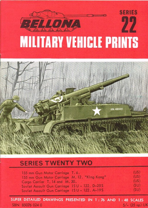 Image for BELLONA MILITARY VEHICLE PRINTS: SERIES TWENTY TWO