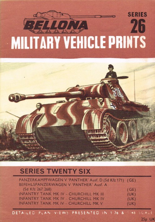 Image for BELLONA MILITARY VEHICLE PRINTS: SERIES TWENTY SIX