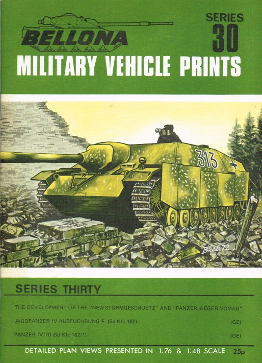 Image for BELLONA MILITARY VEHICLE PRINTS: SERIES THIRTY