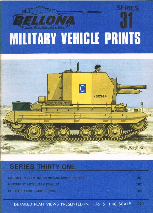 Image for BELLONA MILITARY VEHICLE PRINTS: SERIES THIRTY ONE