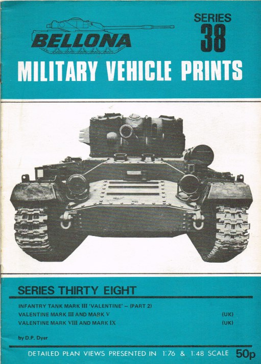 Image for BELLONA MILITARY VEHICLE PRINTS: SERIES THIRTY EIGHT