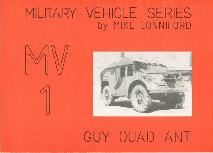 Image for MILITARY VEHICLE SERIES MV1: GUY QUAD ANT