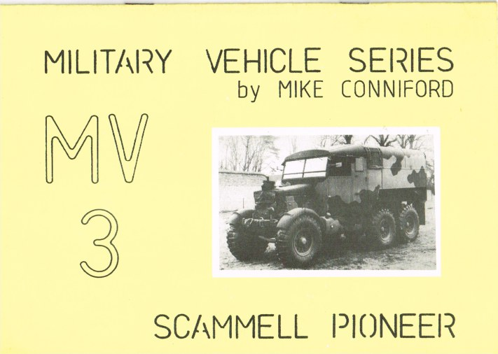 Image for MILITARY VEHICLE SERIES MV3: SCAMMELL PIONEER