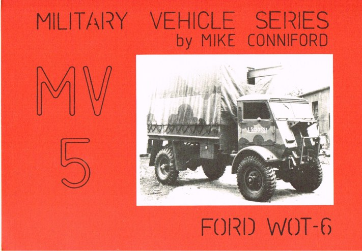 Image for MILITARY VEHICLE SERIES MV5: FORD WOT-6