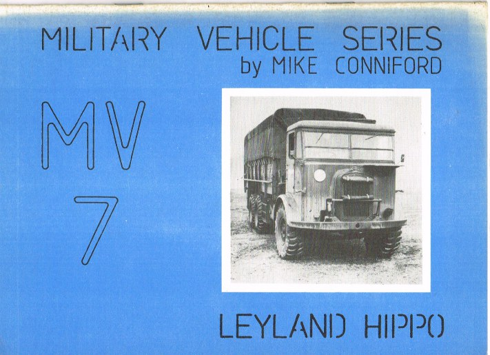 Image for MILITARY VEHICLE SERIES MV7: LEYLAND HIPPO