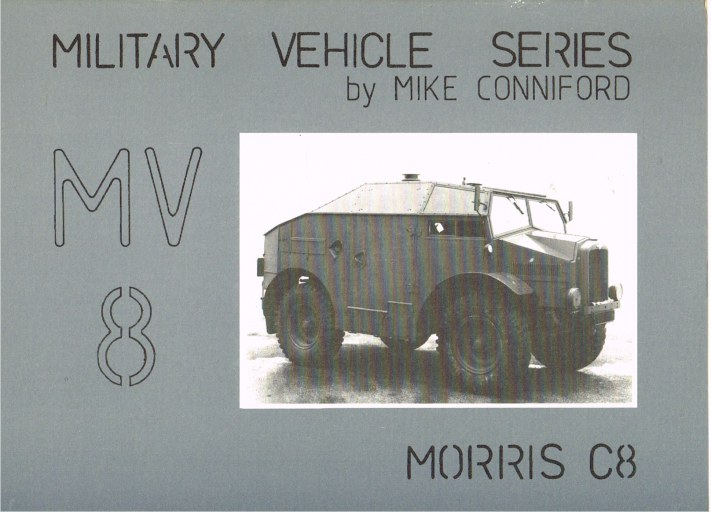 Image for MILITARY VEHICLE SERIES MV8: MORRIS C8