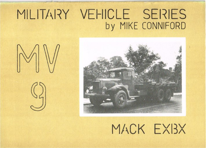 Image for MILITARY VEHICLE SERIES MV9: MACK EXBX