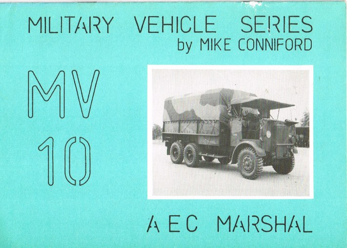 Image for MILITARY VEHICLE SERIES MV10: AEC MARSHAL