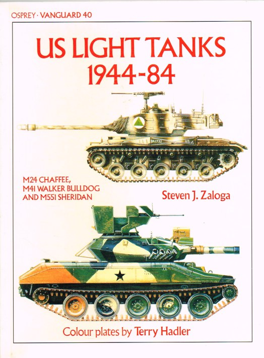 Image for OSPREY VANGUARD 40: US LIGHT TANKS 1944-84