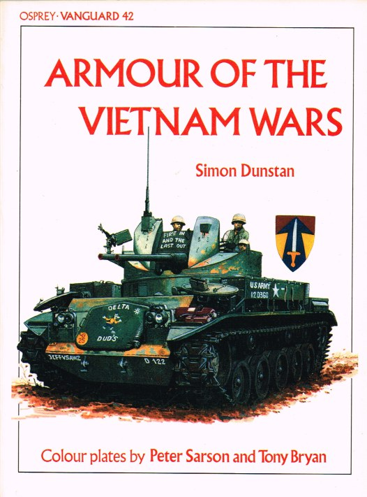 Image for OSPREY VANGUARD 42: ARMOUR OF THE VIETNAM WARS