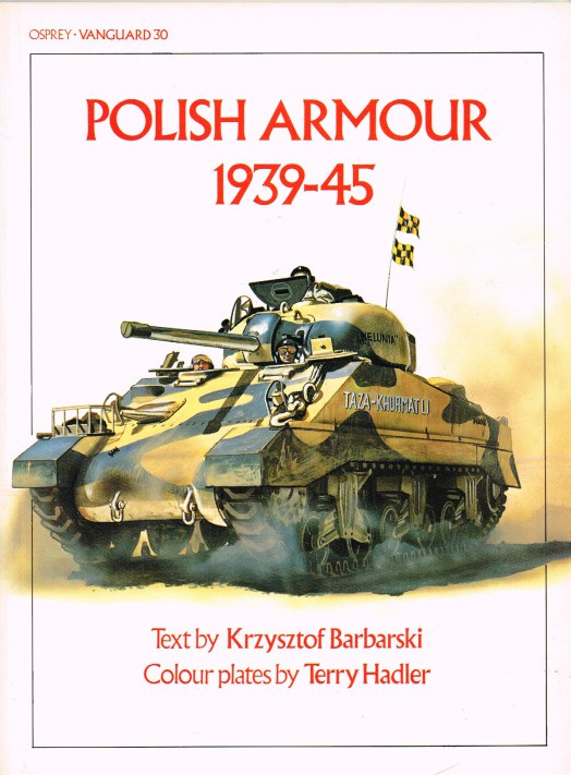 Image for OSPREY VANGUARD 30: POLISH ARMOUR 1939-45