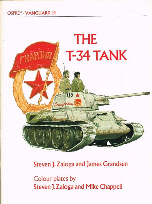 Image for OSPREY VANGUARD 14: THE T-34 TANK