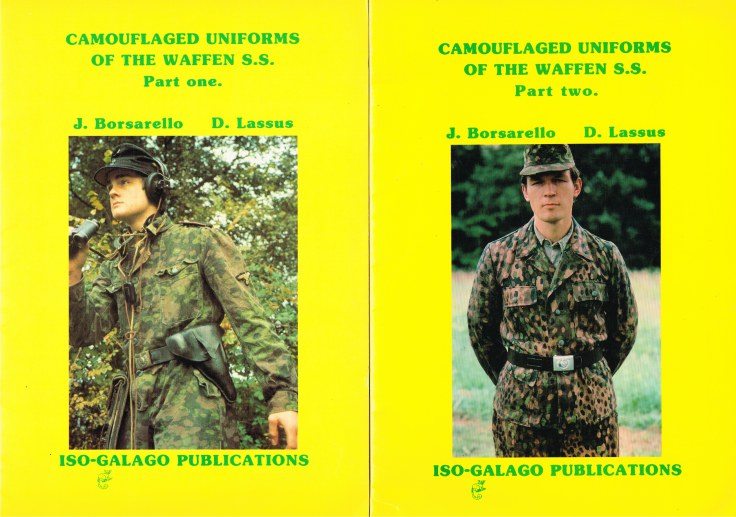 Image for CAMOUFLAGED UNIFORMS OF THE WAFFEN SS (TWO VOLUME SET)