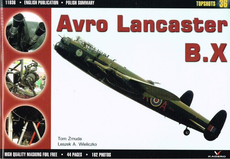 Image for TOPSHOTS 36: AVRO LANCASTER B.X