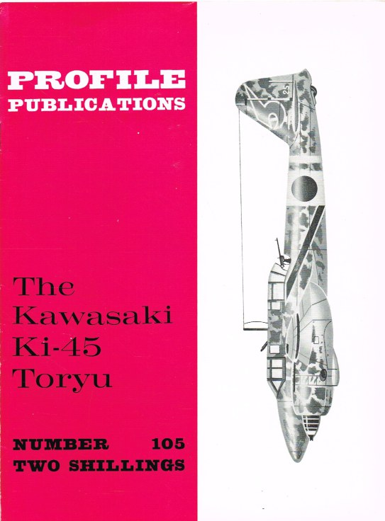 Image for PROFILE PUBLICATIONS NUMBER 105: THE KAWASAKI KI-45 TORYU