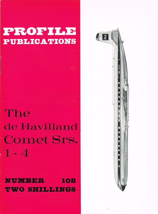 Image for PROFILE PUBLICATIONS NUMBER 108: THE DE HAVILLAND COMET SRS. 1-4