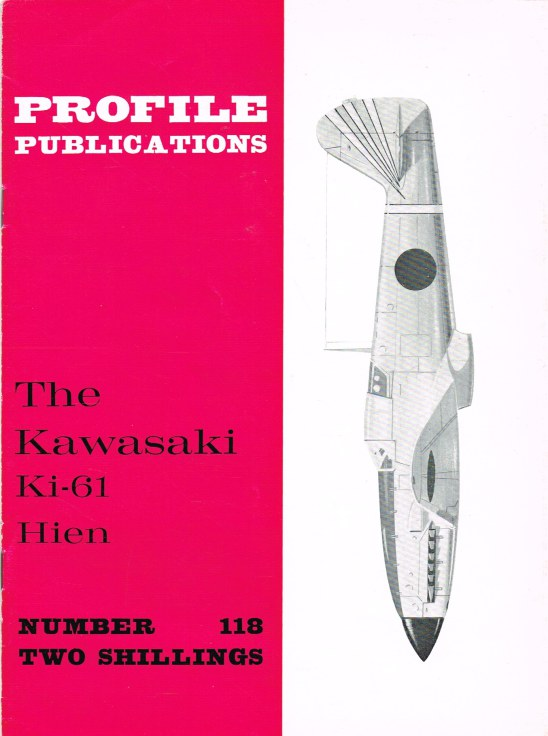 Image for PROFILE PUBLICATIONS NUMBER 118: THE KAWASAKI KI-61 HIEN