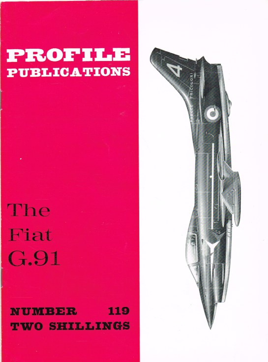 Image for PROFILE PUBLICATIONS NUMBER 119: THE FIAT G.91