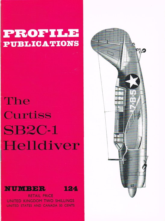 Image for PROFILE PUBLICATIONS NUMBER 124: THE CURTISS SB2C-1 HELLDIVER
