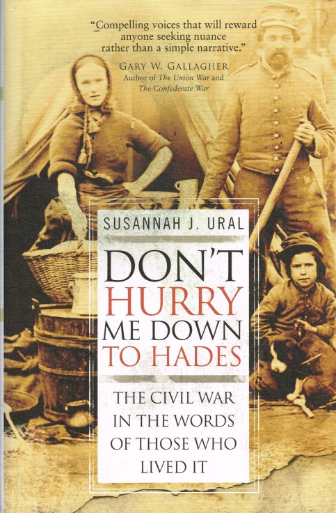 Image for DON'T HURRY ME DOWN TO HADES: THE CIVIL WAR IN THE WORDS OF THOSE WHO LIVED IT