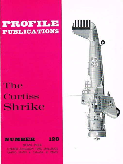 Image for PROFILE PUBLICATIONS NUMBER 128: THE CURTIS SHRIKE