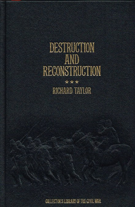 Image for DESTRUCTION AND RECONSTRUCTION : PERSONAL EXPERIENCES OF THE LATE WAR