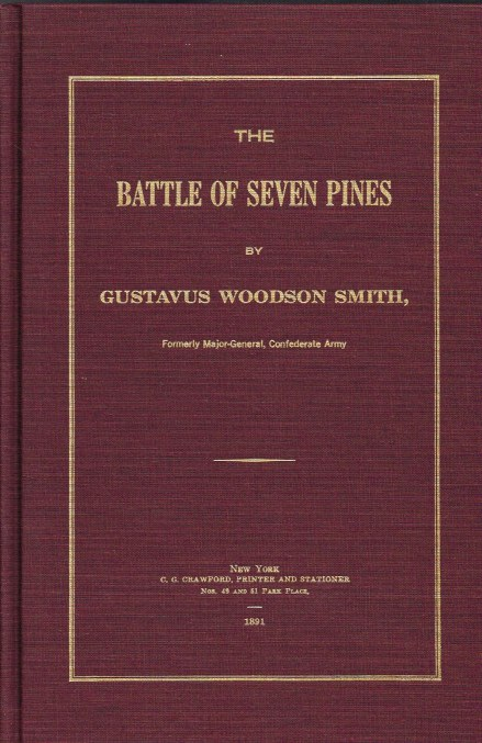 Image for THE BATTLE OF SEVEN PINES
