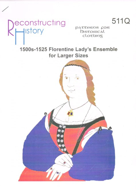Image for RH511Q: 1500S-1525 FLORENTINE LADY'S ENSEMBLE FOR LARGER SIZES