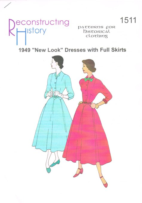 Image for RH1511: 1949 'NEW LOOK' DRESSES WITH FULL SKIRTS