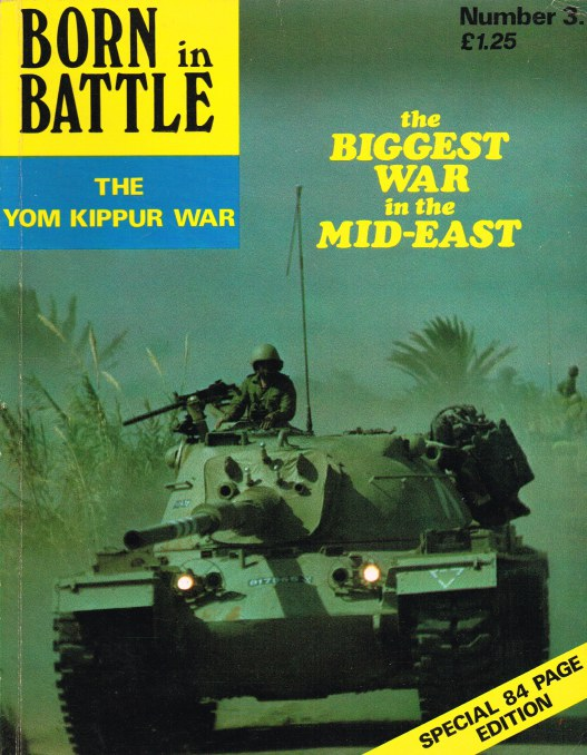 Image for BORN IN BATTLE 3 : THE YOM KIPPUR WAR
