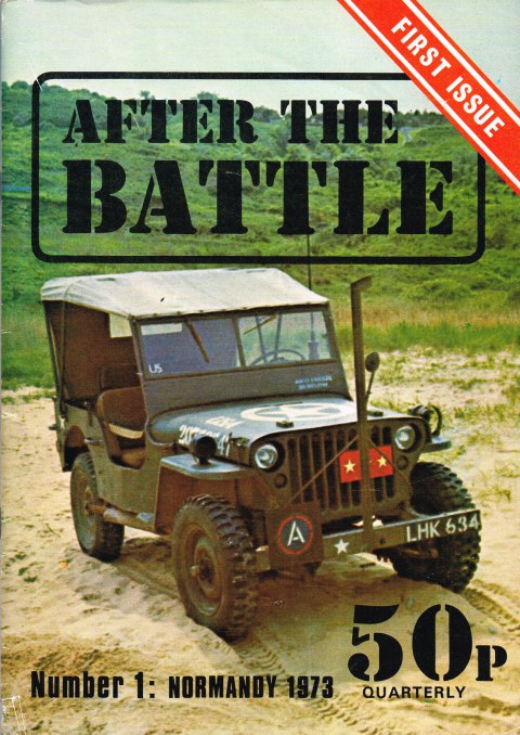 Image for AFTER THE BATTLE NUMBER 1: NORMANDY 1973 (FIRST ISSUE)