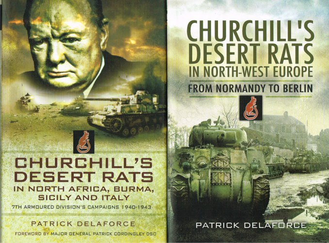 Image for CHURCHILL'S DESERT RATS (TWO VOLUME SET)