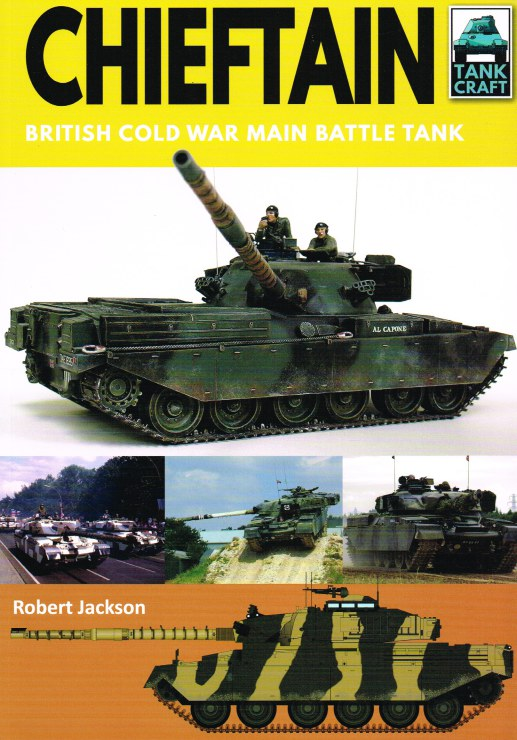Image for TANKCRAFT 15: CHIEFTAIN - BRITISH COLD WAR MAIN BATTLE TANK