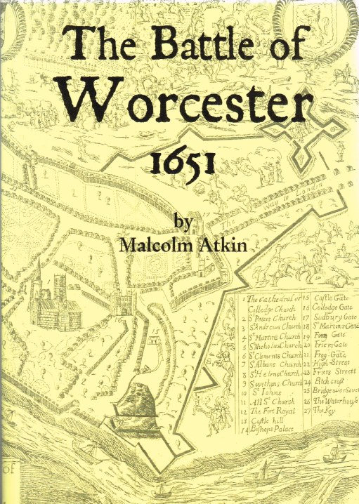 Image for THE BATTLE OF WORCESTER 1651