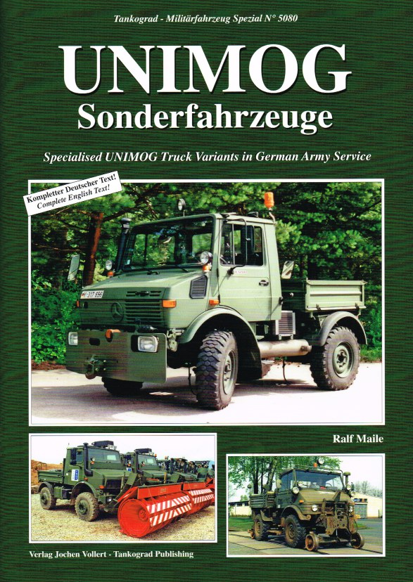 Image for UNIMOG : SPECIALISED UNIMOG TRUCK VARIANTS IN GERMAN ARMY SERVICE