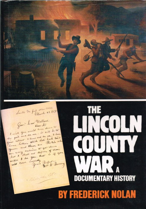 Image for THE LINCOLN COUNTY WAR : A DOCUMENTARY HISTORY