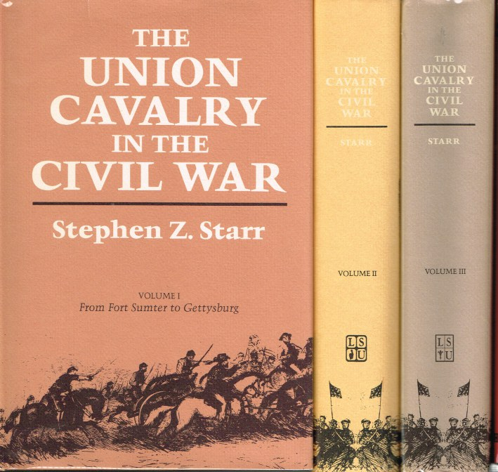 Image for THE UNION CAVALRY IN THE CIVIL WAR (THREE VOLUME SET)