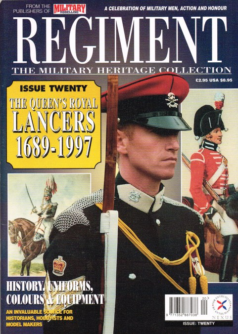Image for REGIMENT: ISSUE TWENTY - THE QUEEN'S ROYAL LANCERS 1689-1997