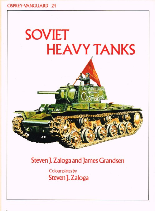 Image for OSPREY VANGUARD 24: SOVIET HEAVY TANKS