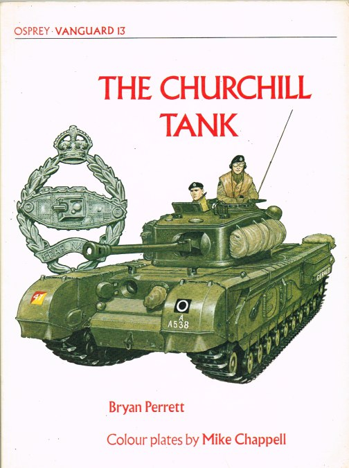 Image for OSPREY VANGUARD 13: THE CHURCHILL TANK