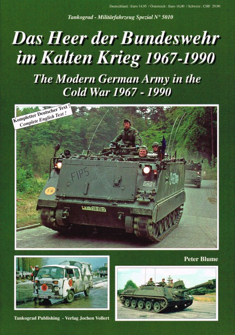 Image for THE MODERN GERMAN ARMY IN THE COLD WAR 1967-1990